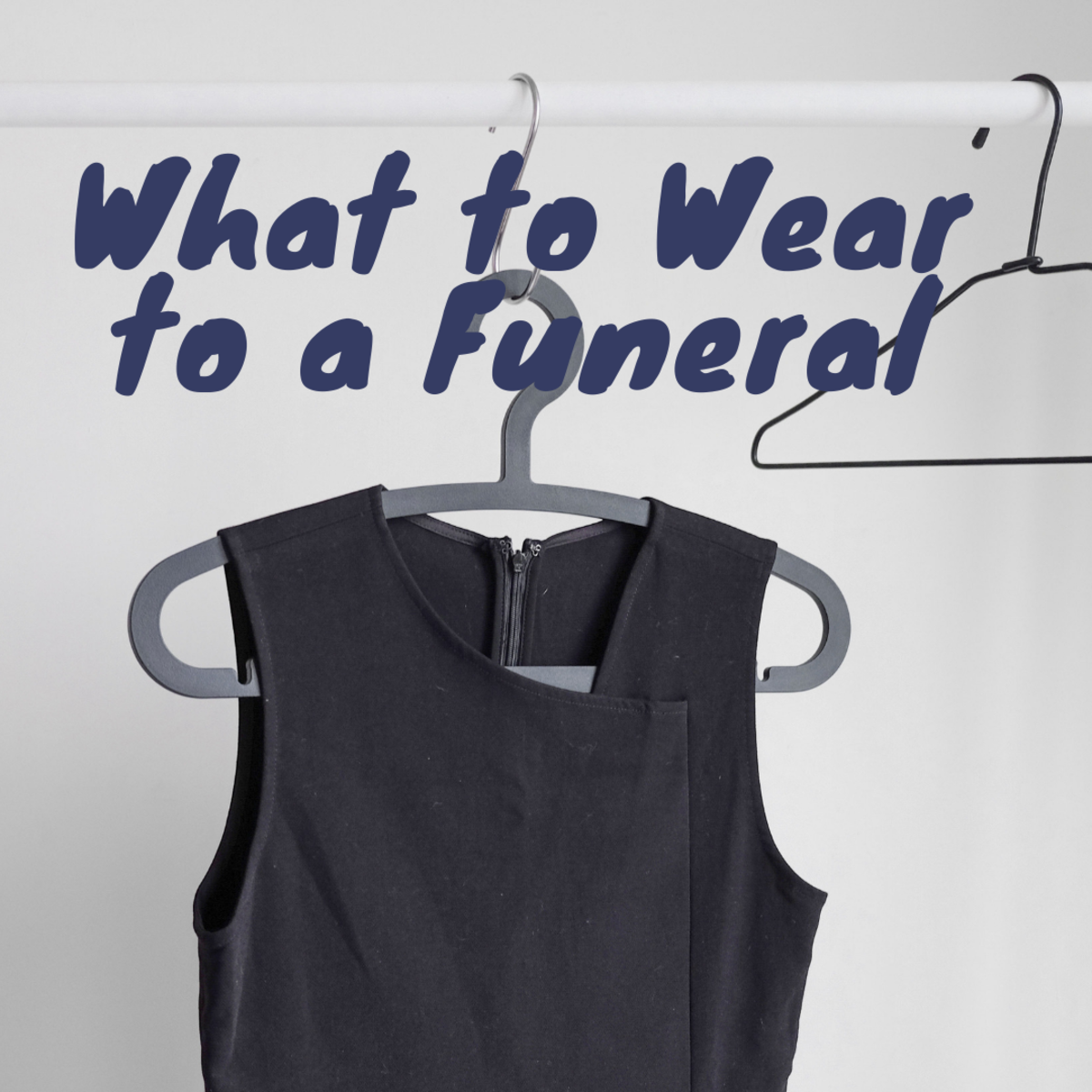 You don't have to go with the standard black for a funeral, but you do want to dress appropriately.