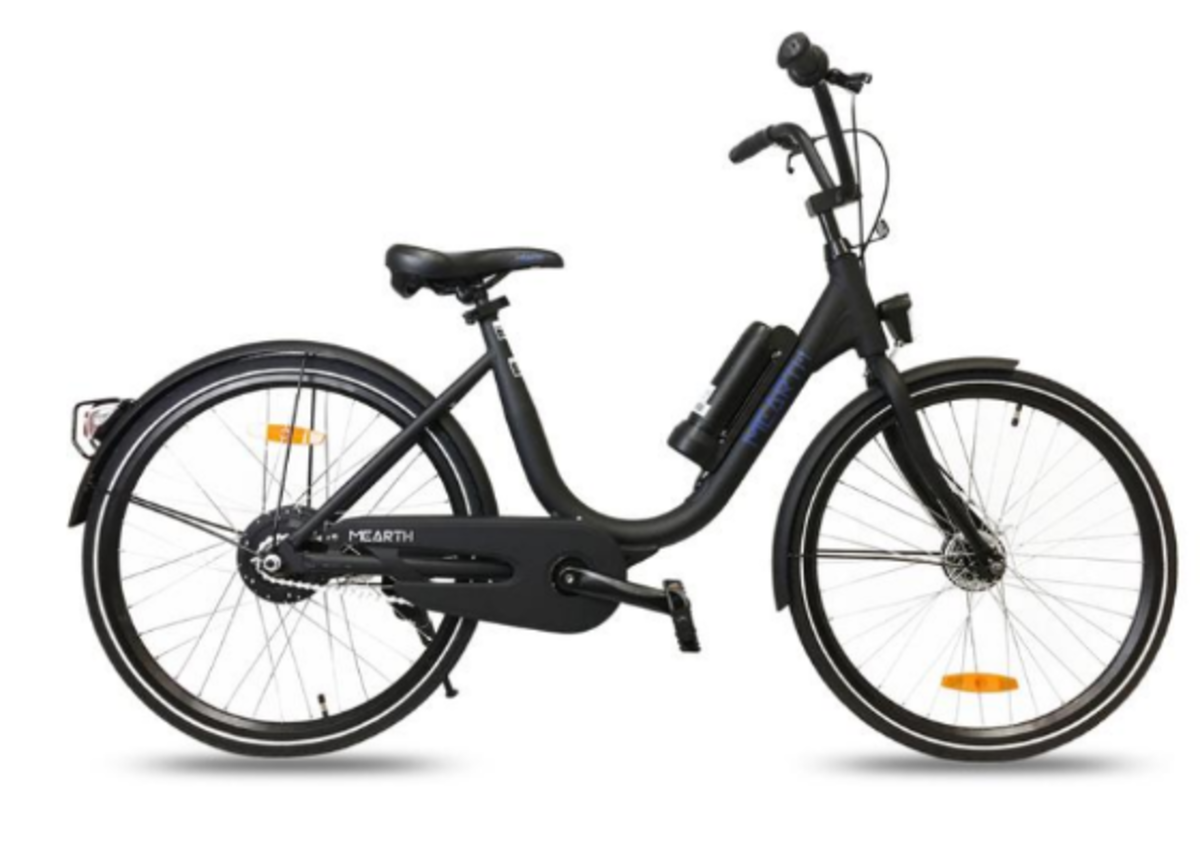 This is the E-Bike that I personally ride with: The Mearth E-Bike Zero, which I've been using for a couple of months now.