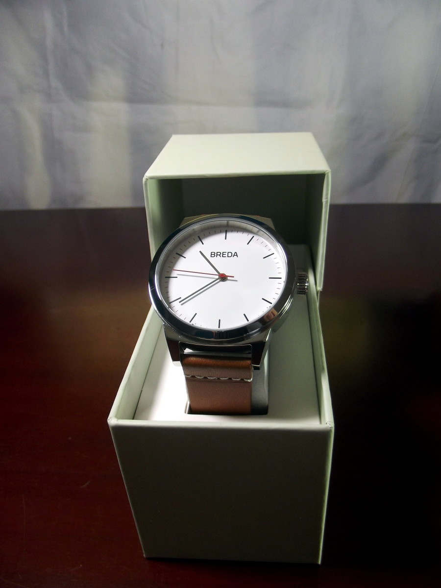 Breda 8184B Quartz Watch