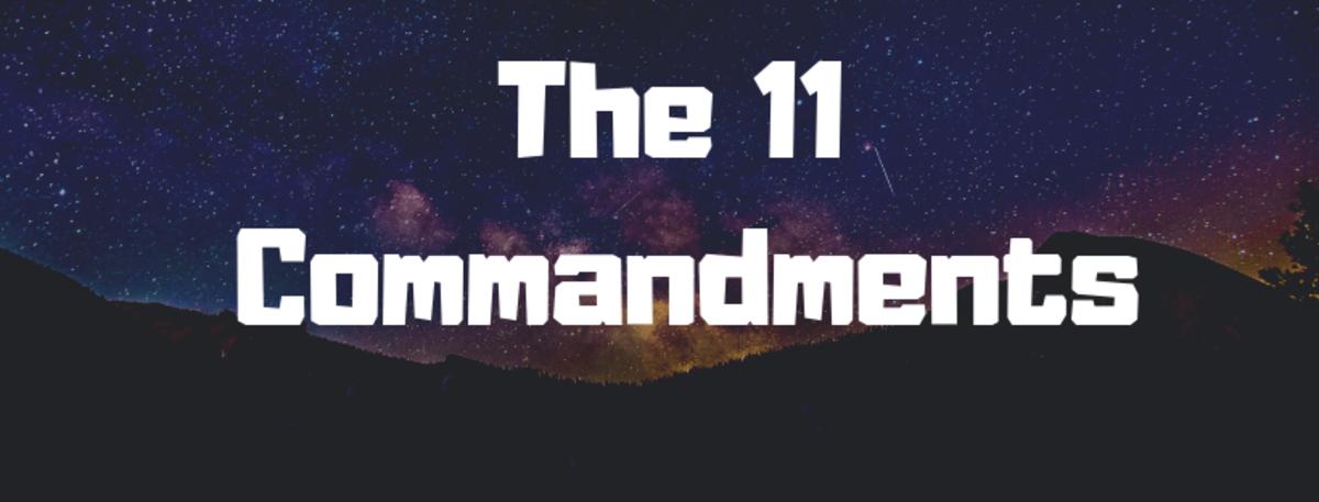 the-eleven-commandments