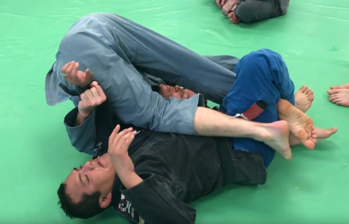 How to Do the Shaolin Sweep in Brazilian Jiu Jitsu