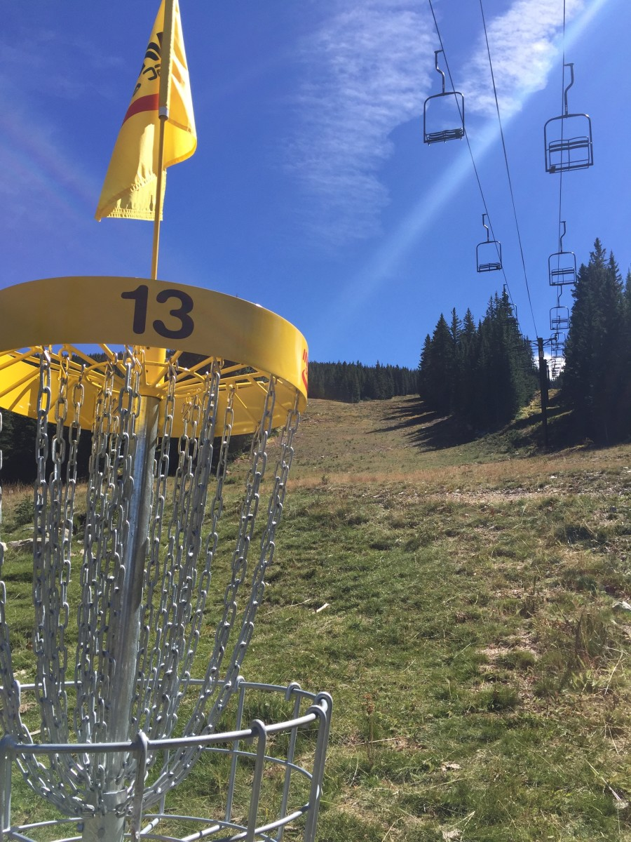 The nation's highest disc golf course