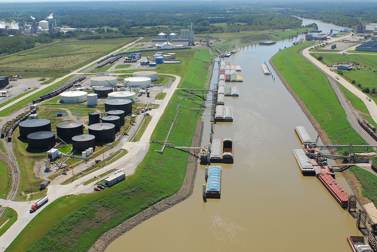 The Port of Catoosa