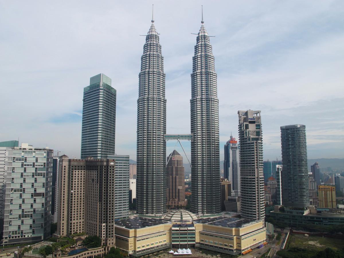 Kuala Lumpur's Petronas Towers.