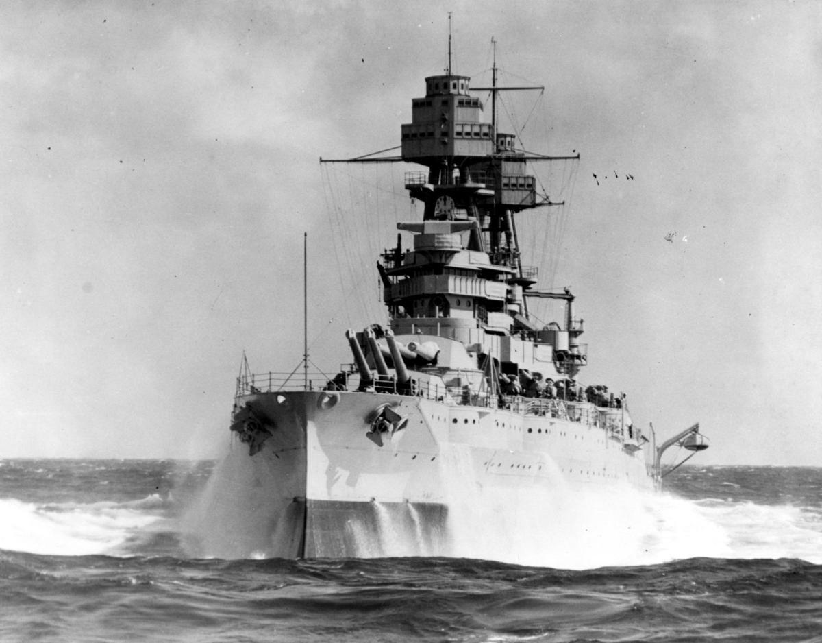 What If the Battleship Arizona Wasn't Destroyed?