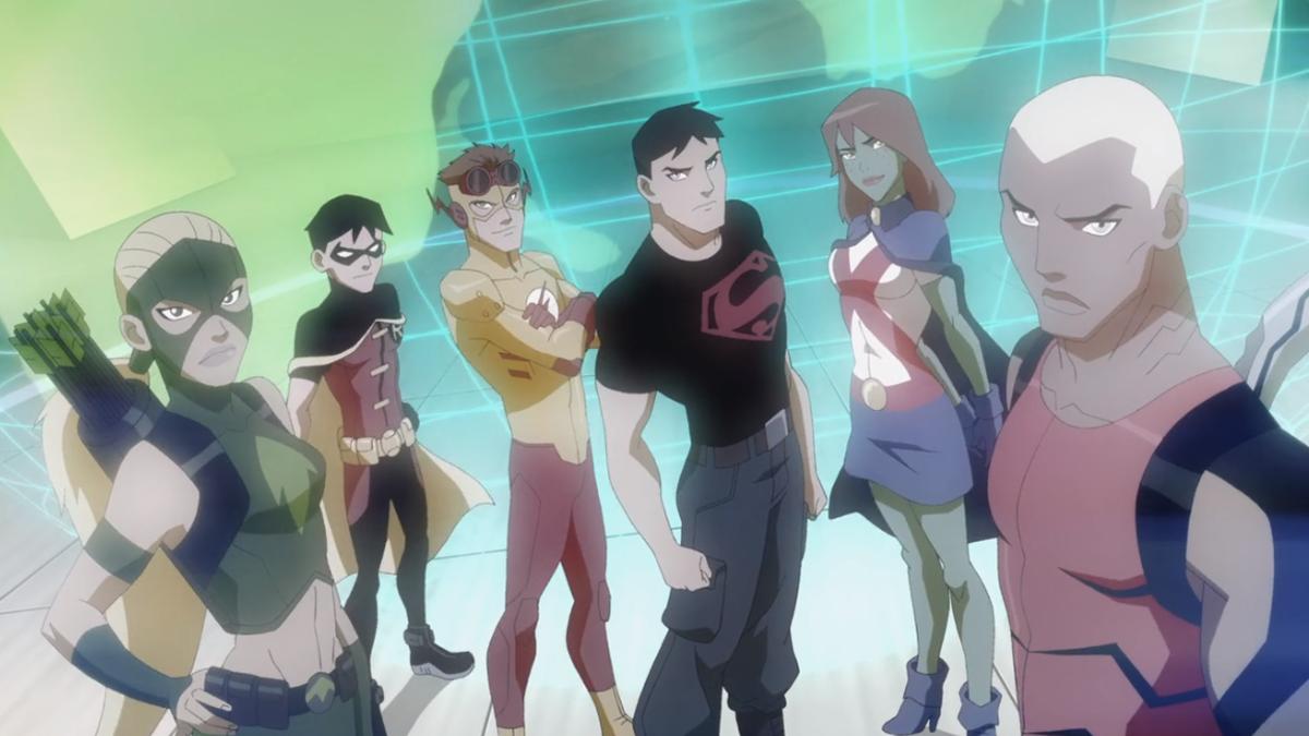 The main cast of season one. (Screencap courtesy of Warner Bros.)