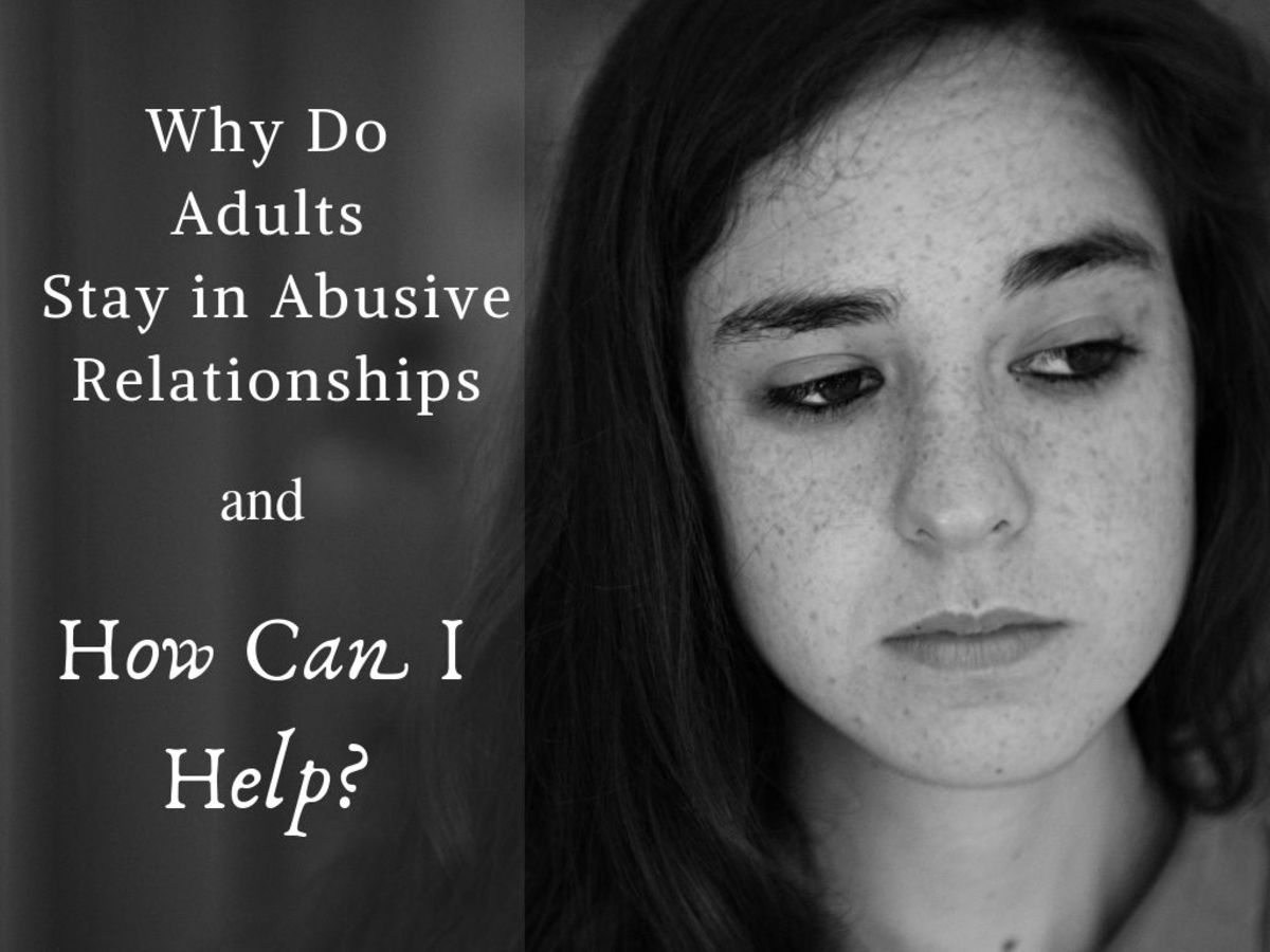 Many victims of abuse live in shame of their situation, and this keeps them from seeking help.