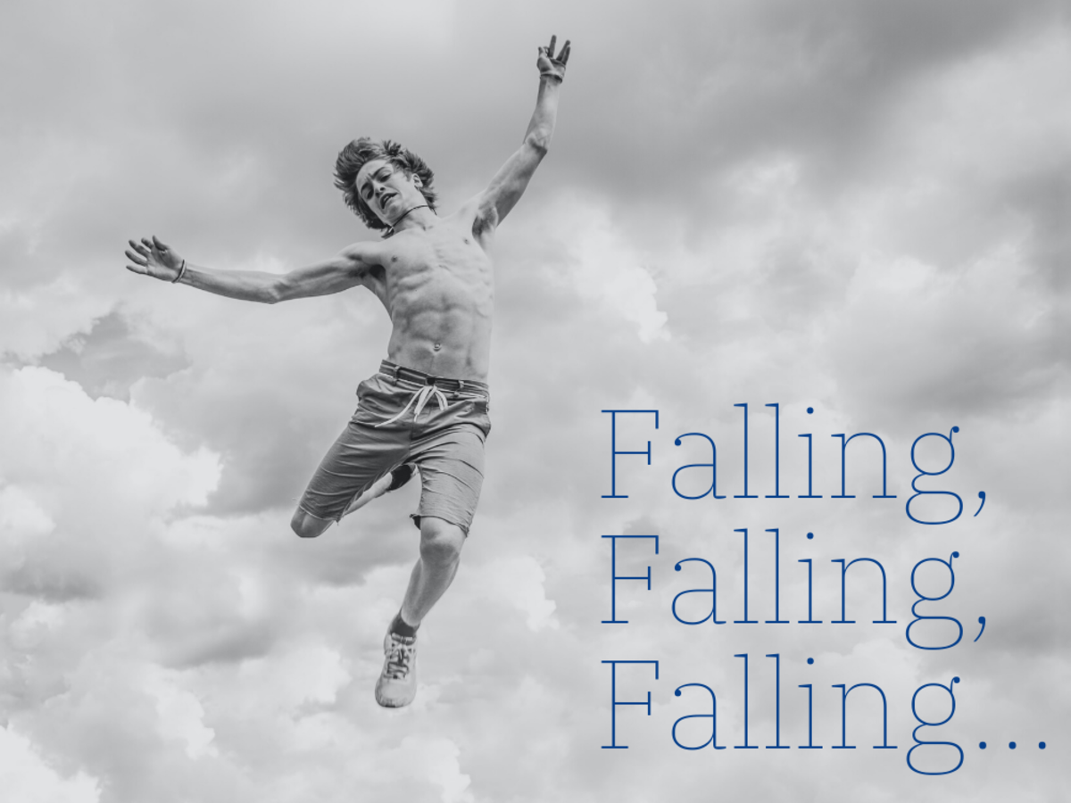 How to interpret your dreams about falling.