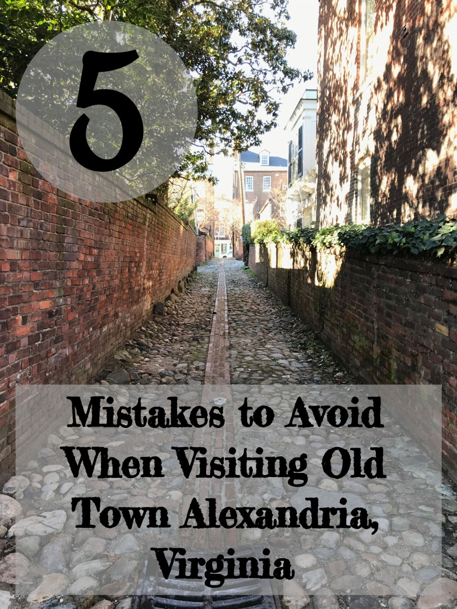 Just a few minutes outside of Washington, D.C., a visit to Old Town Alexandria, Virginia is like stepping back in time.  Make your visit extra special by avoiding these 5 mistakes.