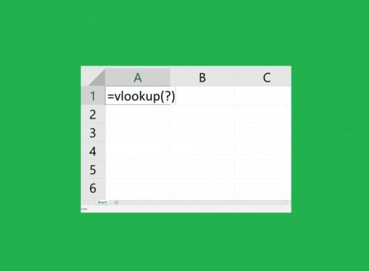How to Use the VLOOKUP Function in MS Excel 2016