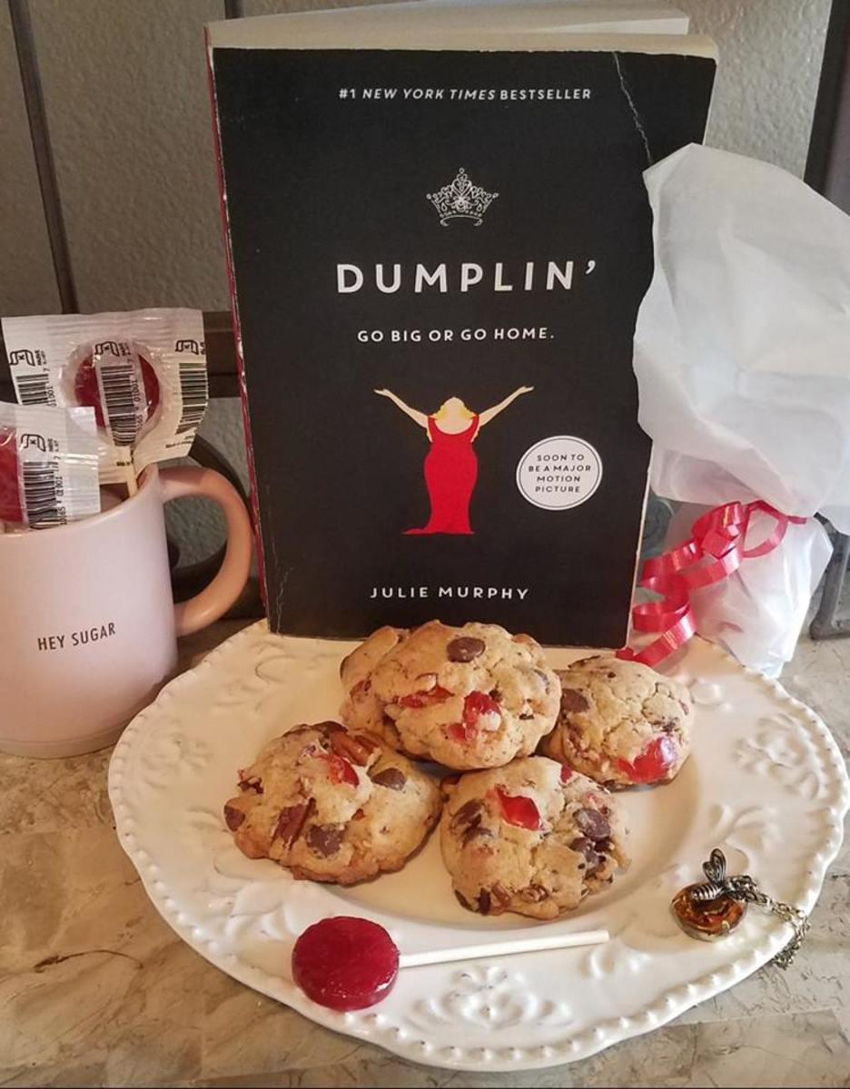 Dumplin' Book Discussion and Cherry Chocolate Chip Cookie Recipe