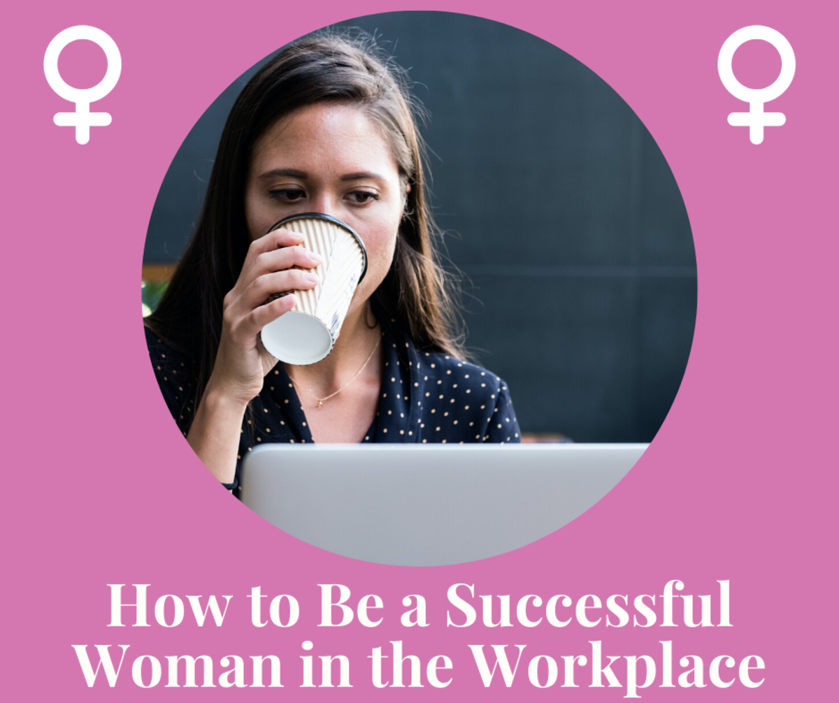 Don't let discrimination get you down! Learn how to be a strong woman in the workplace.