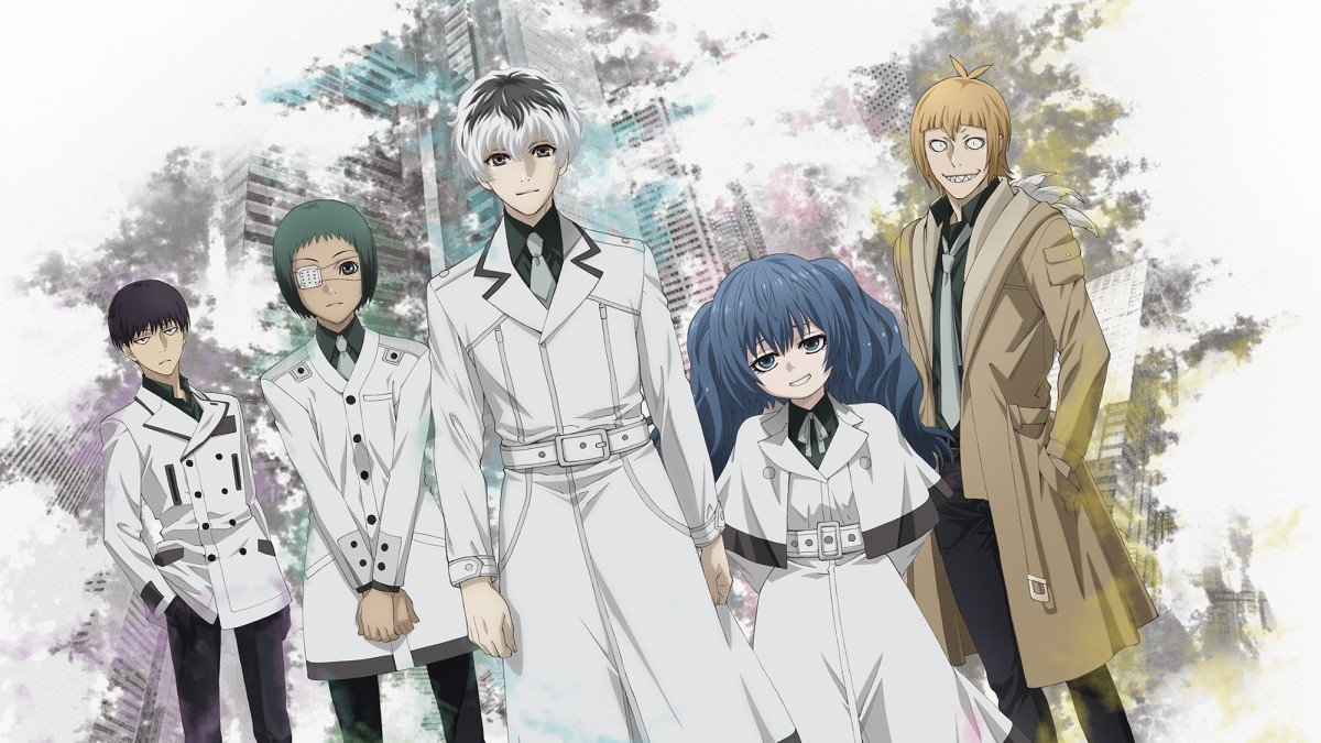Tokyo Ghoul:re finished airing in December 2018. (Image courtesy of Studio Pierrot)