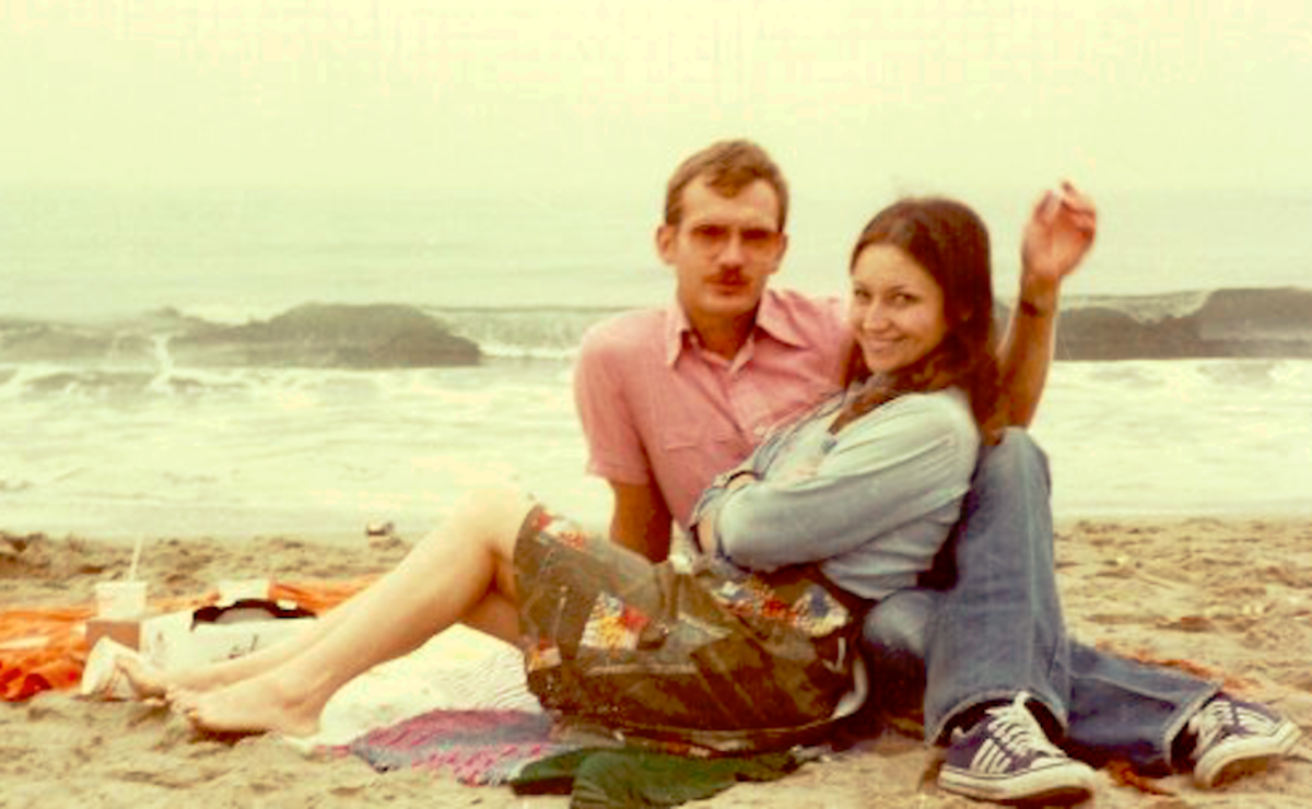 Southern California 1979. Photo taken by our 10 year old daughter, Lyn.