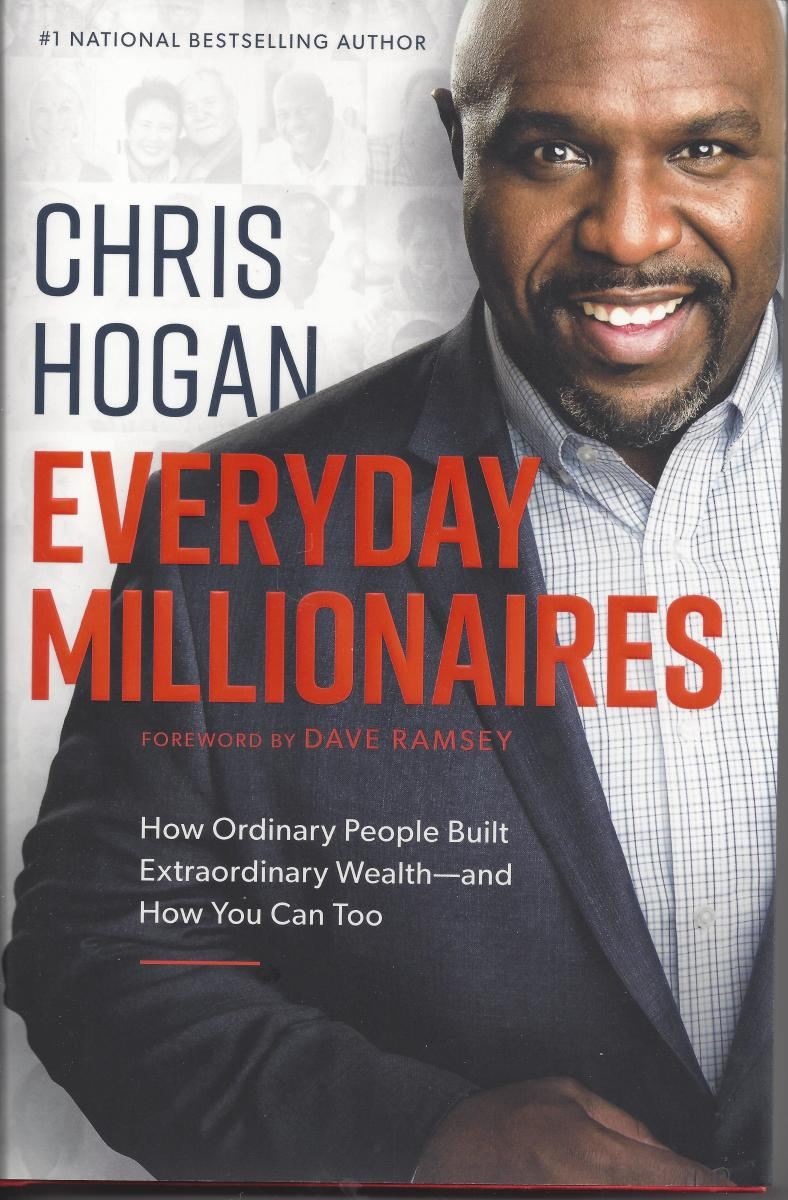 Chris Hogan found that most millionaires achieved that status by saving 15% every year for a lifetime.