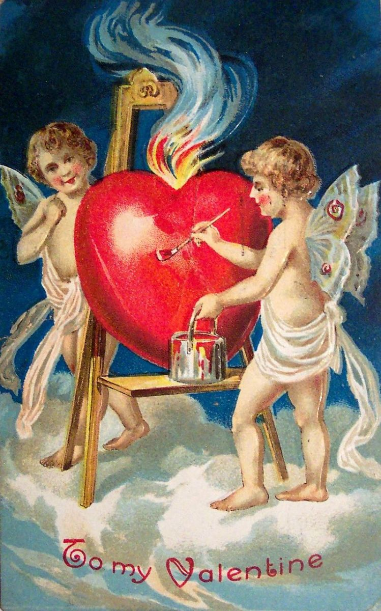 A 1909 St. Valentine's Day Party