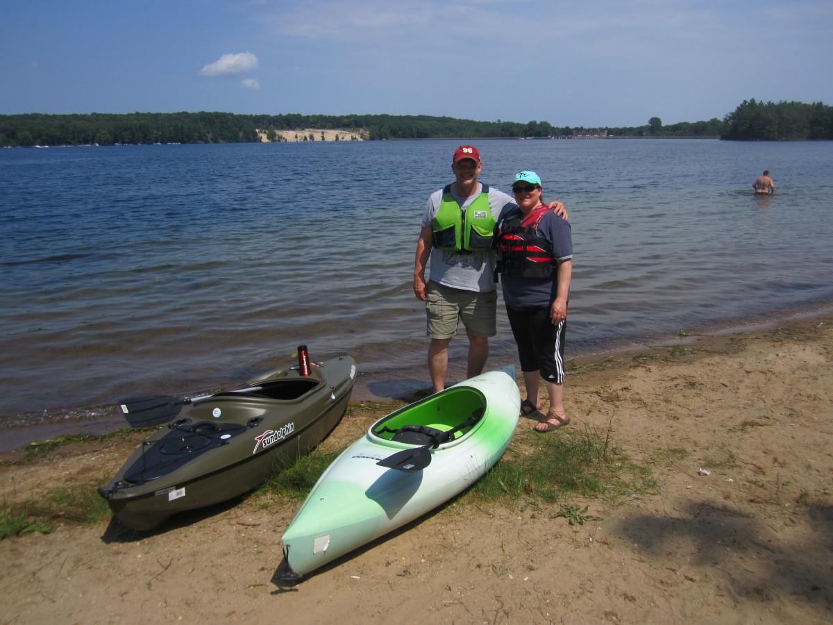 Kayaking In Michigan Skyaboveus
