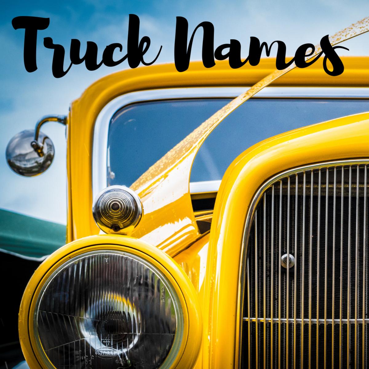 150+ Legit Truck Names (Badass, Classic, & Female Pickup Ideas)