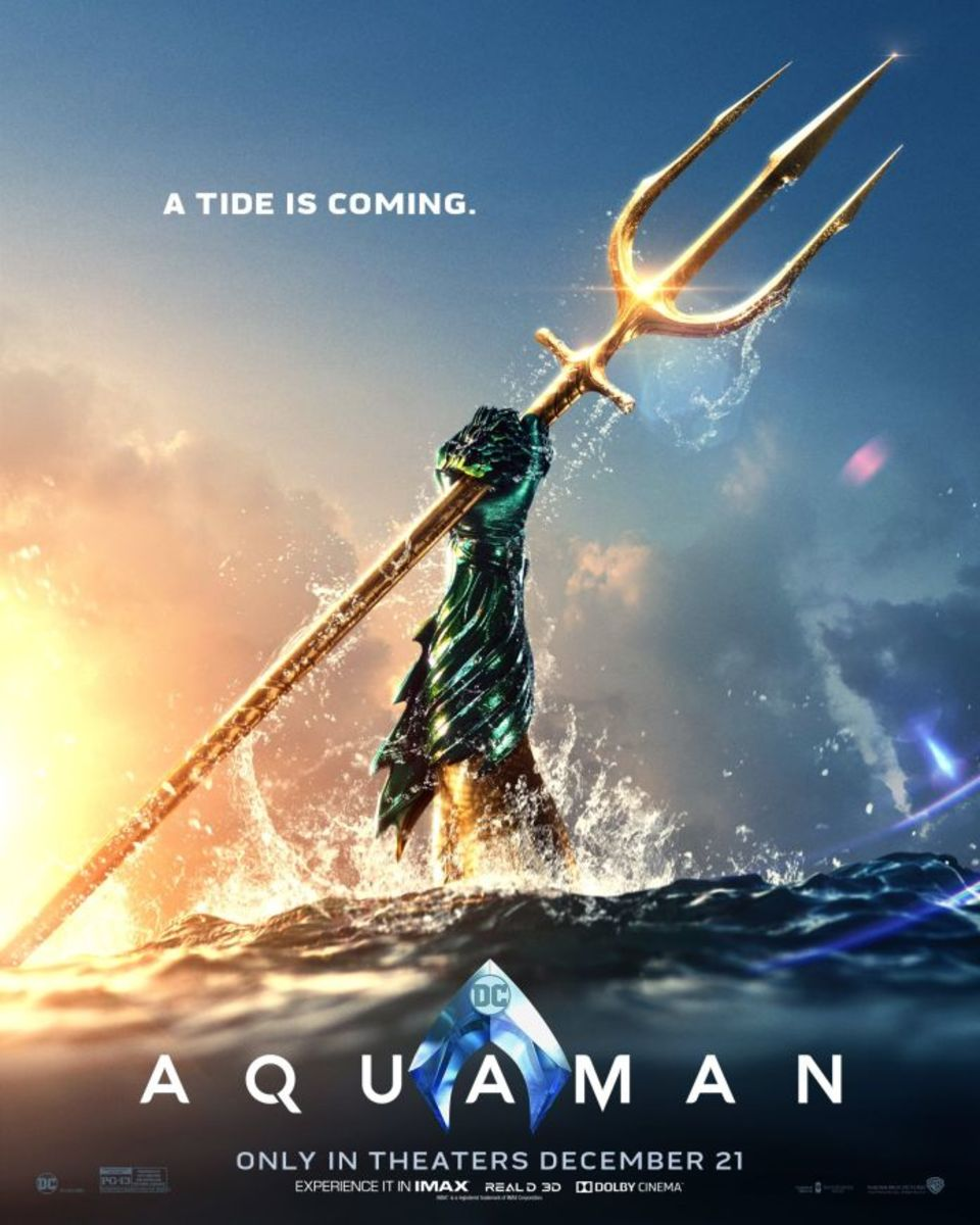 'Aquaman' Movie Review Starring Jason Momoa
