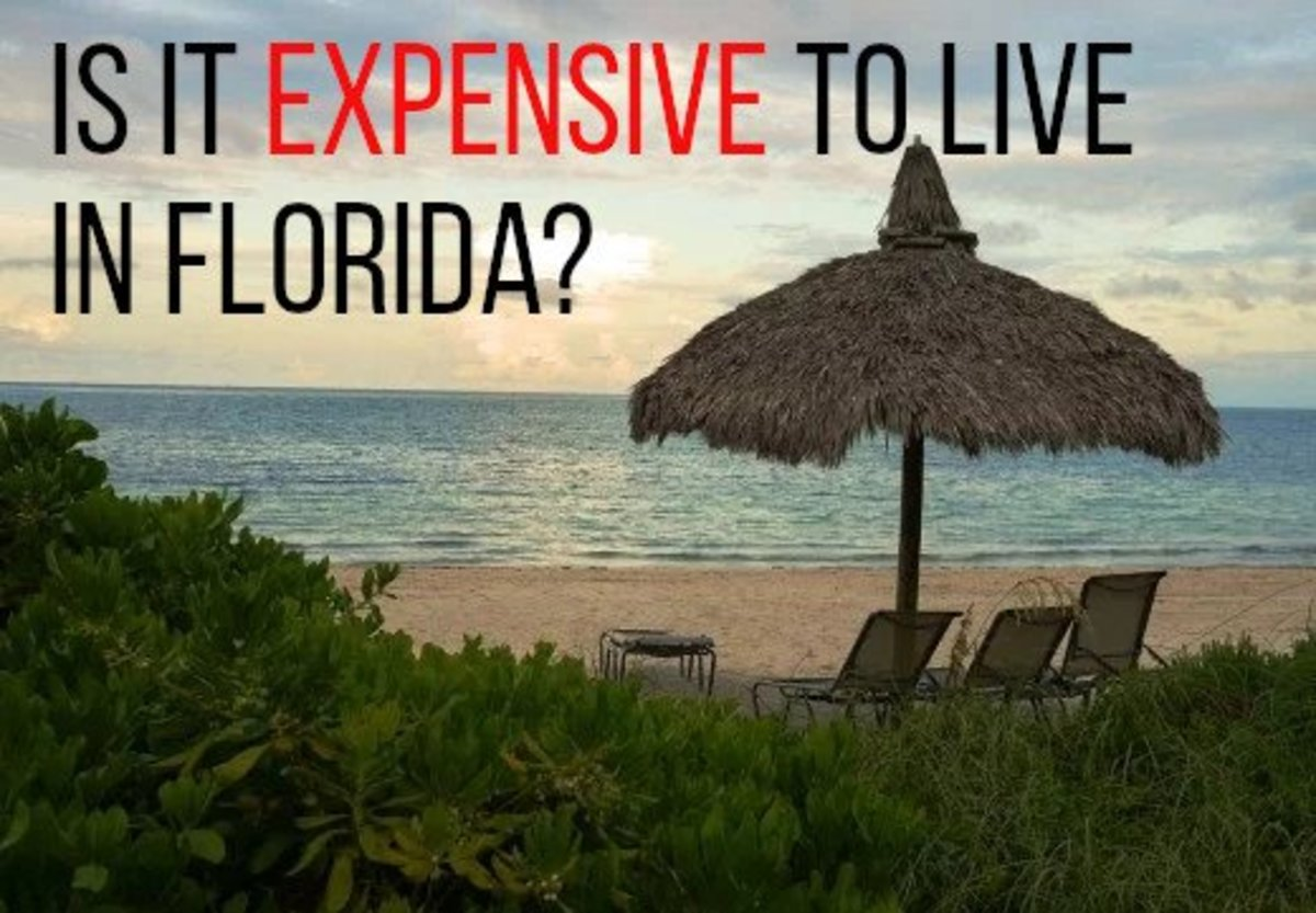Considering moving to Florida? Read on for information on the cost of living in the Sunshine State.
