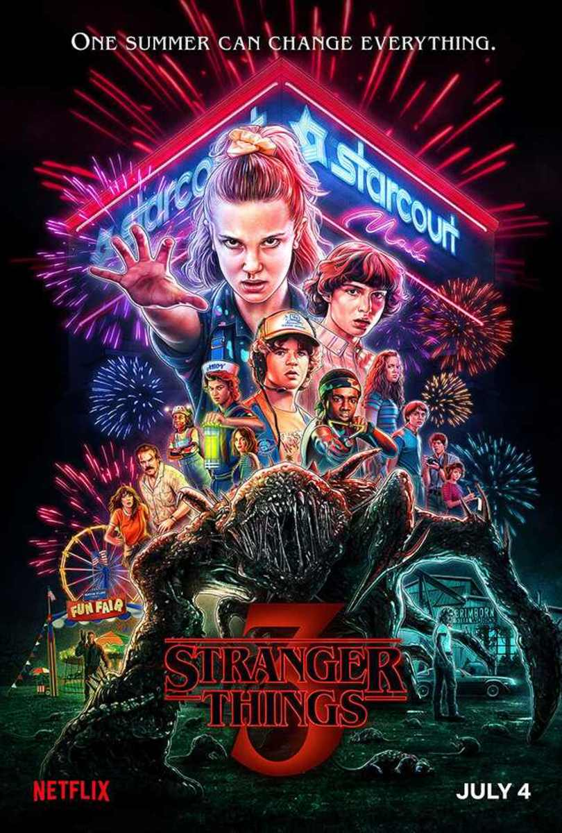 My Review of 'Stranger Things 3' (2019)