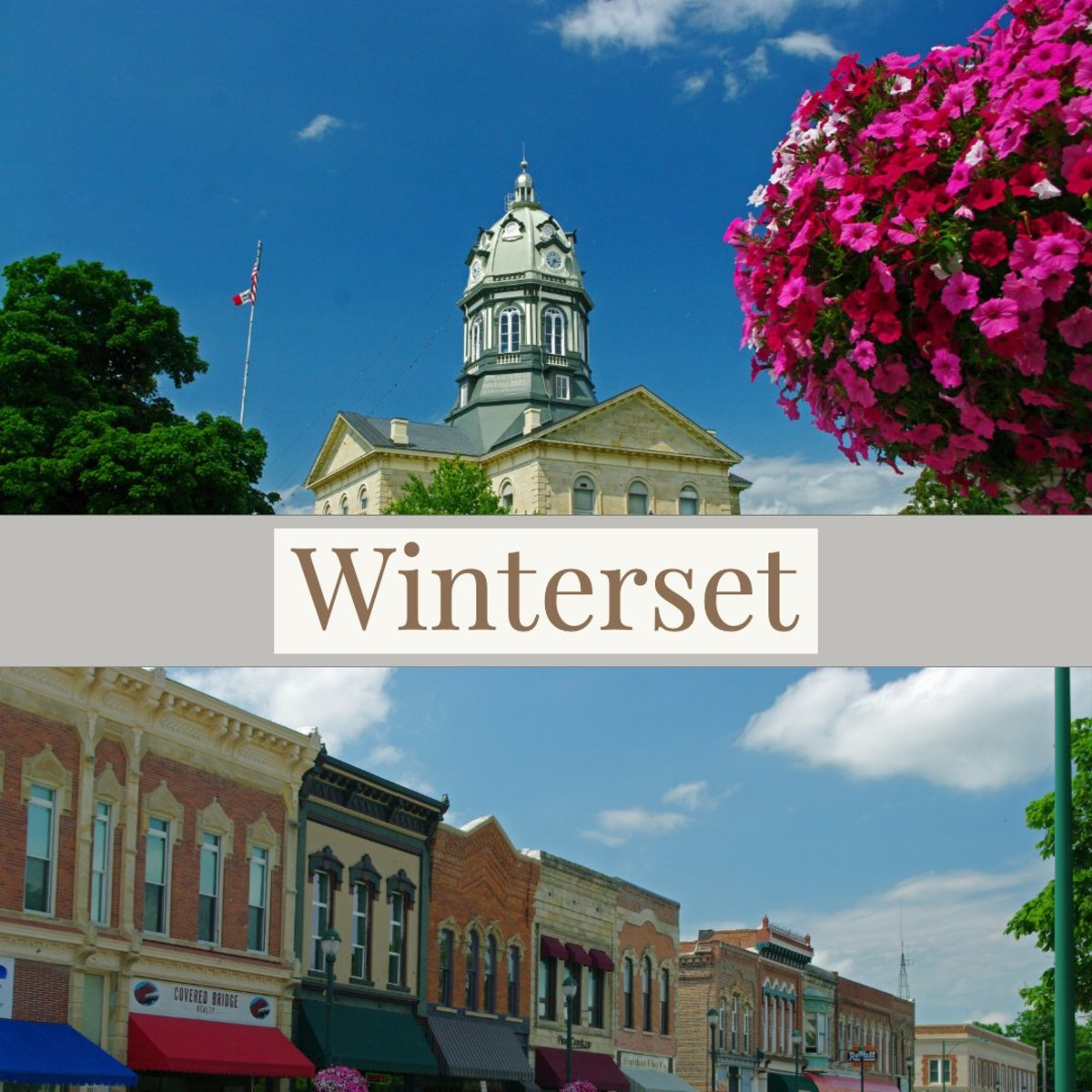 Wandering Through Winterset, Iowa
