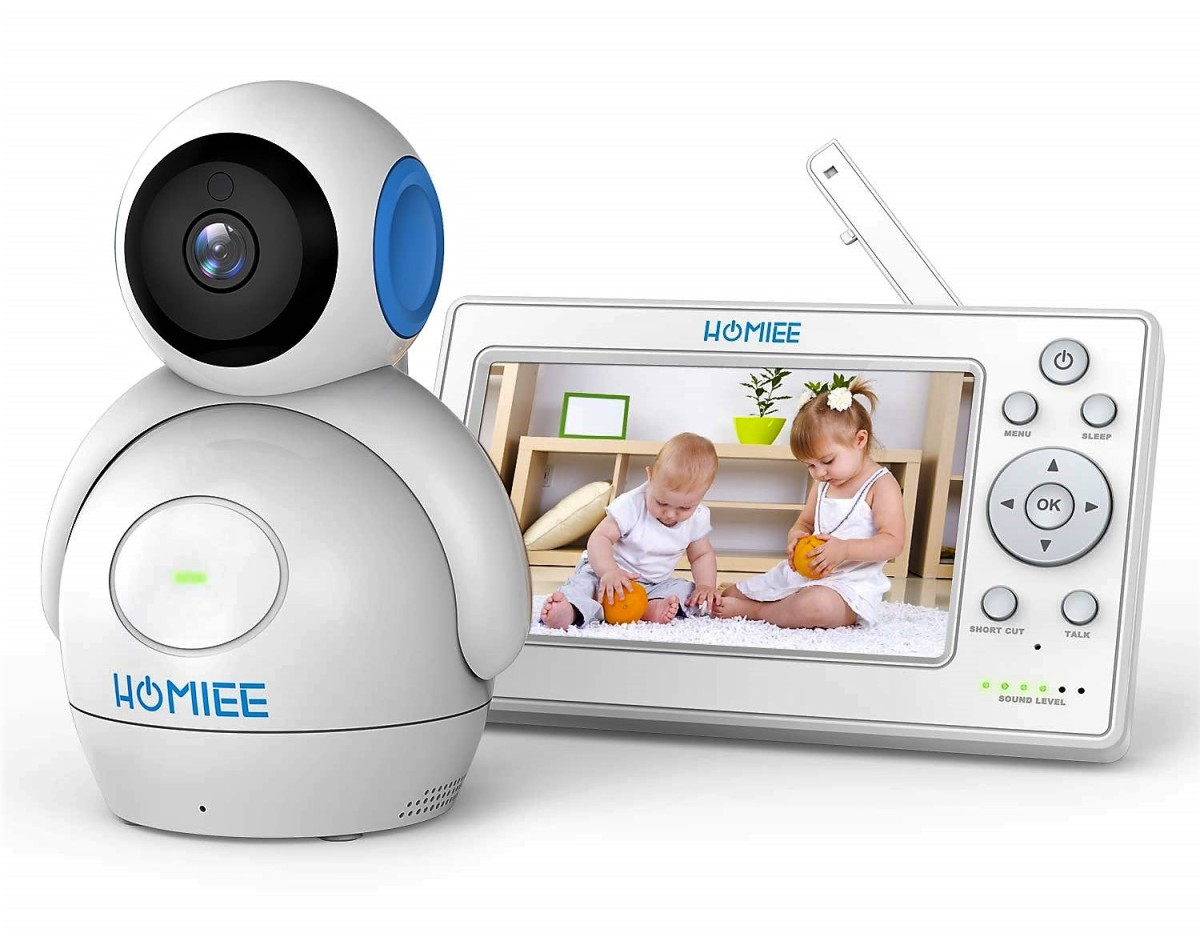 Homiee Digital Baby Monitor (720p)