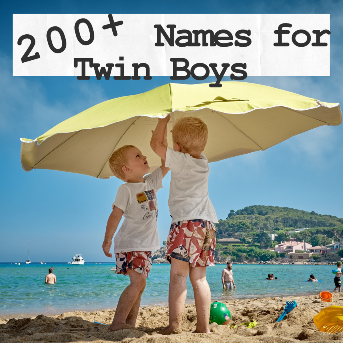 200+ Great Baby Names for Twin Boys