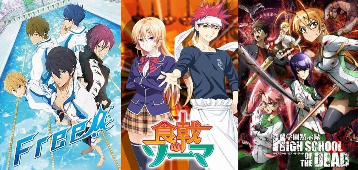 Top 10 Best Fan Service Anime