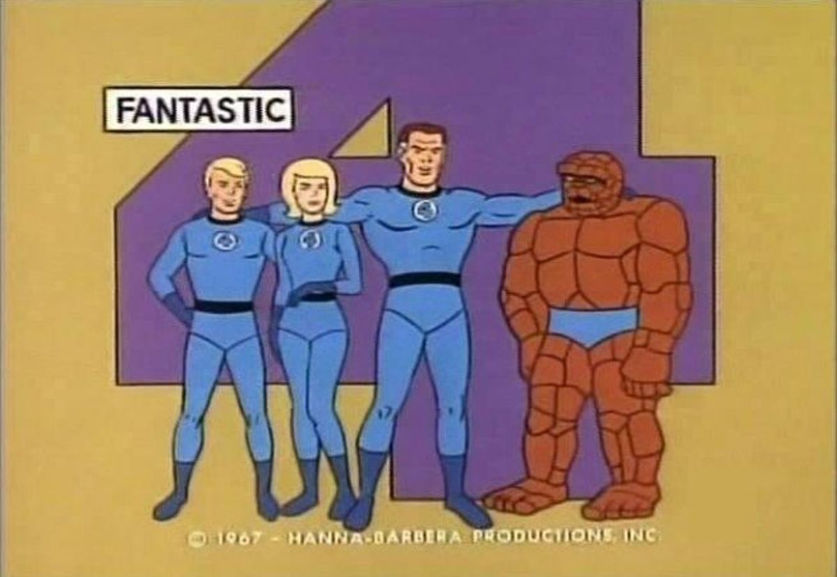 History of Hanna-Barbera: 'Fantastic Four' (1967)