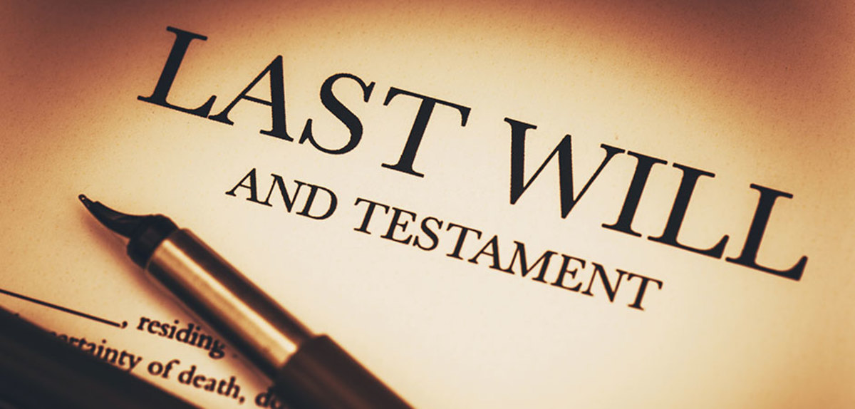 Who and What Should Be Included In Your Will?