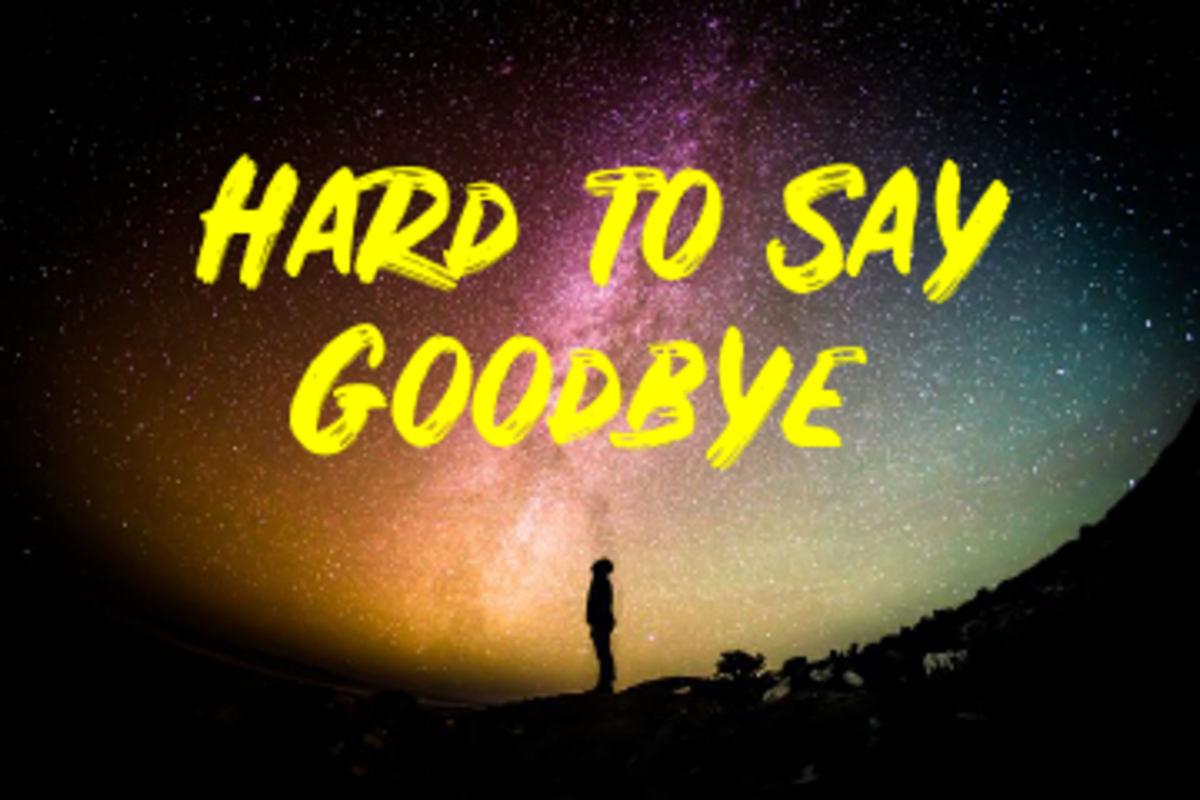 Poem:  Hard to Say Goodbye