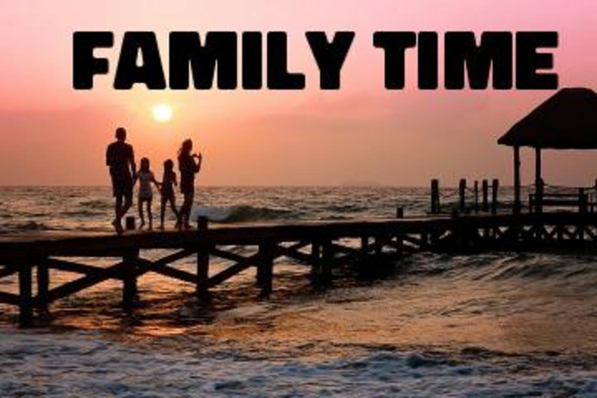 Poem:  Family Time