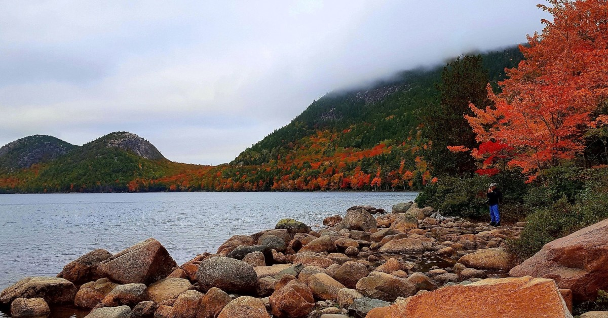 Jordan Pond, Arcadia National Park, Bar Harbor, Maine