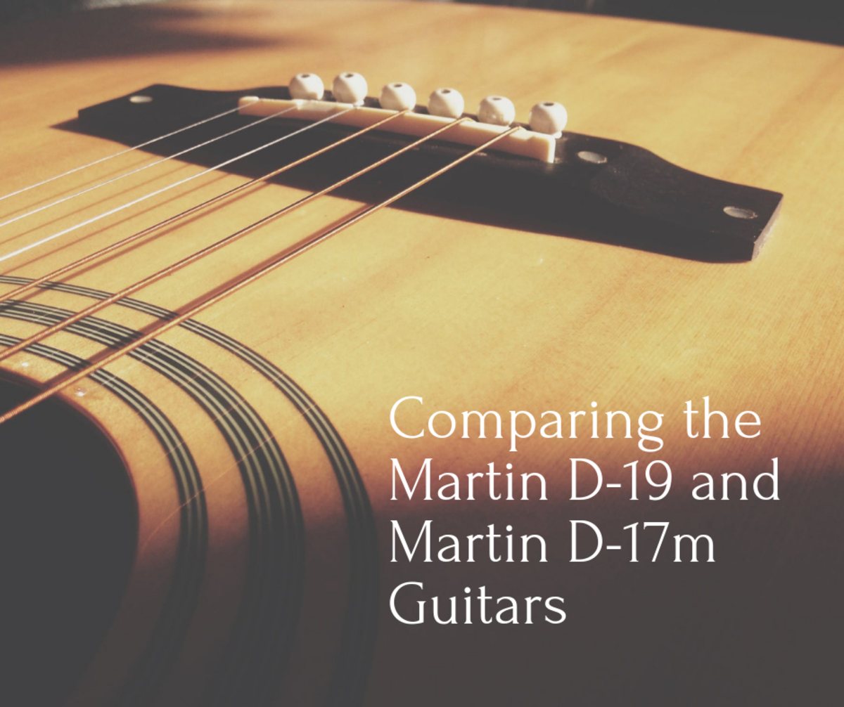 The Martin D-19 and the Martin D-17m are both excellent guitars. Read on to learn which might be best for you!