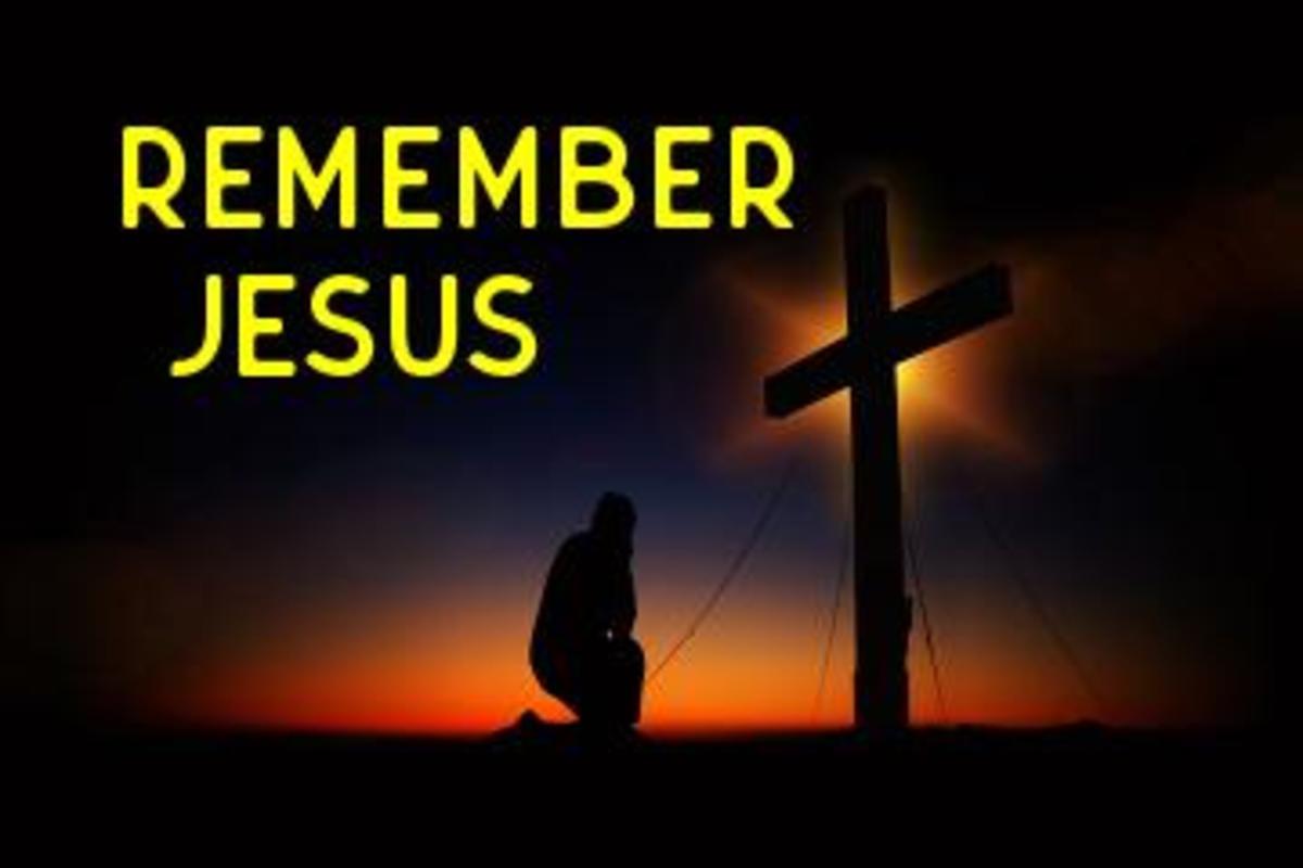 Poem: Remember Jesus