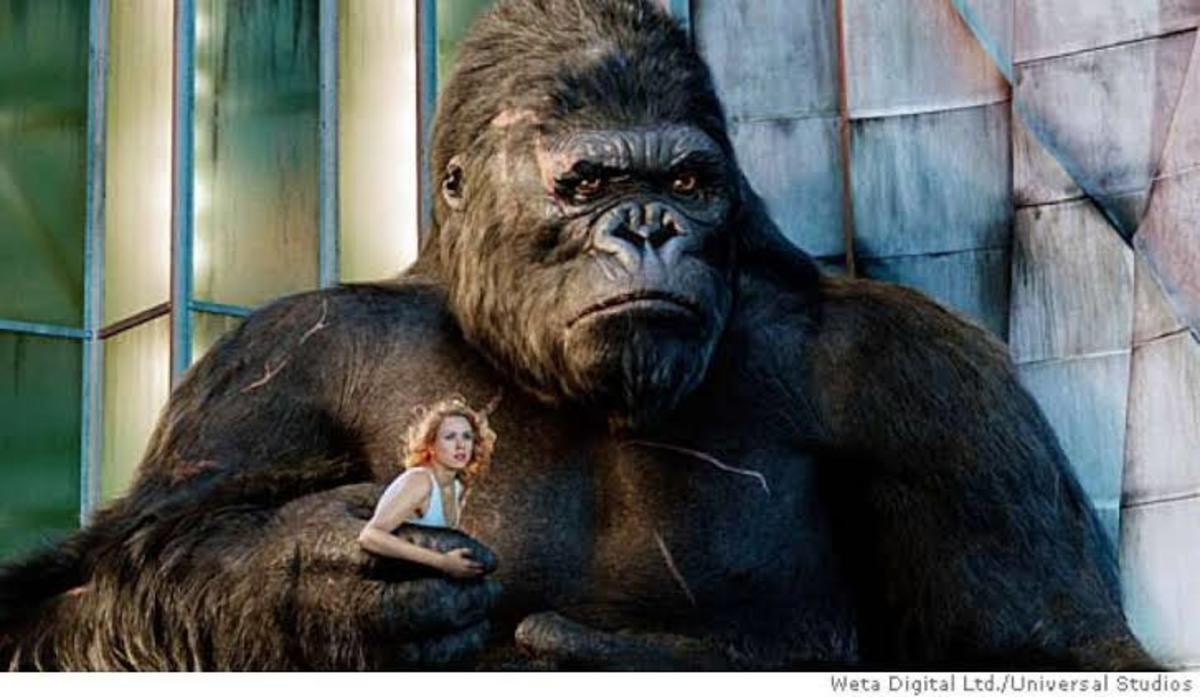 When King Kong Met Ann !