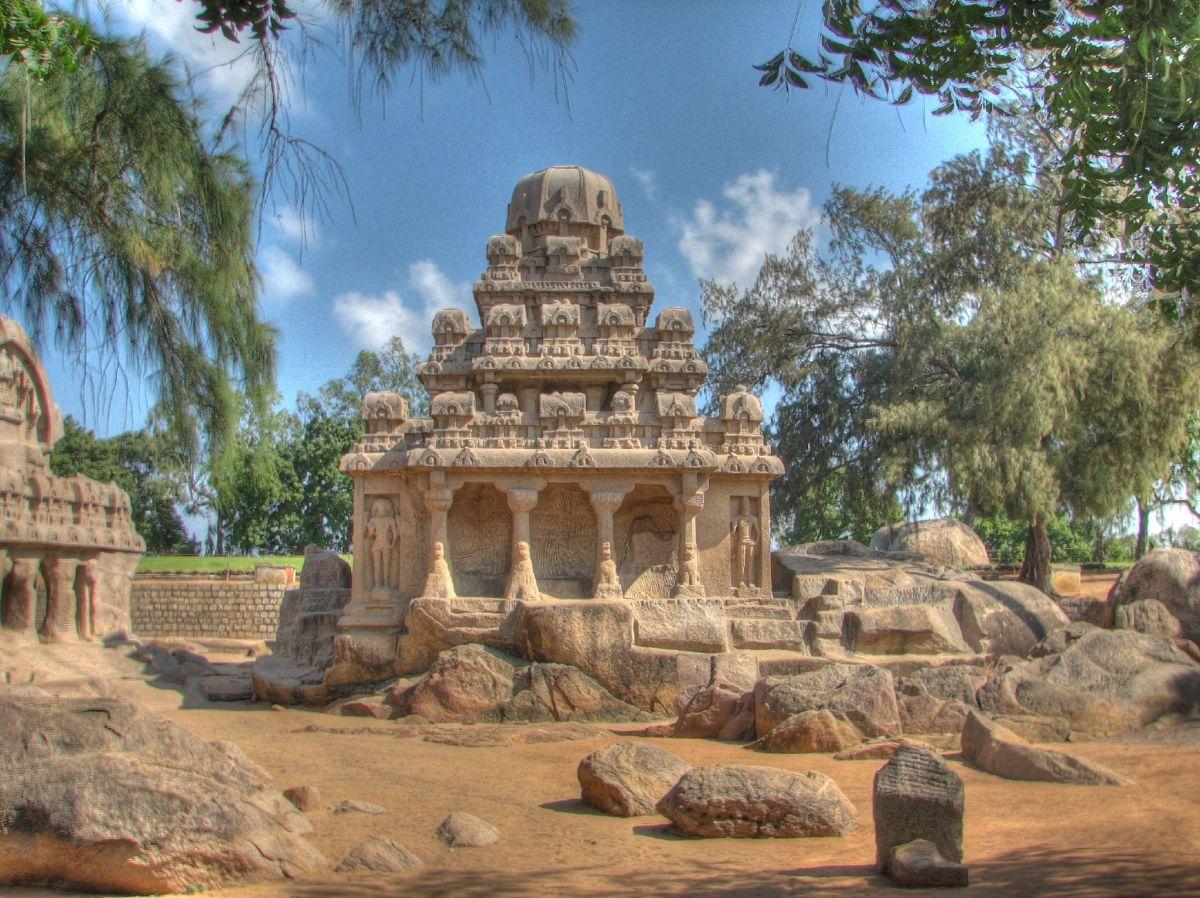 Dharmaraja Ratha, Mamallapuram