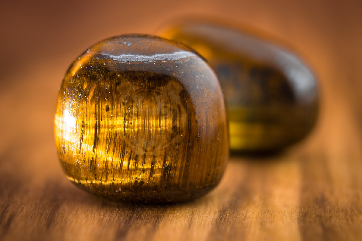 Tiger's eye has long been used as a protective amulet.