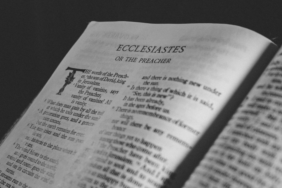 What We Learned From Ecclesiastes (Reflections on Bible Verses)