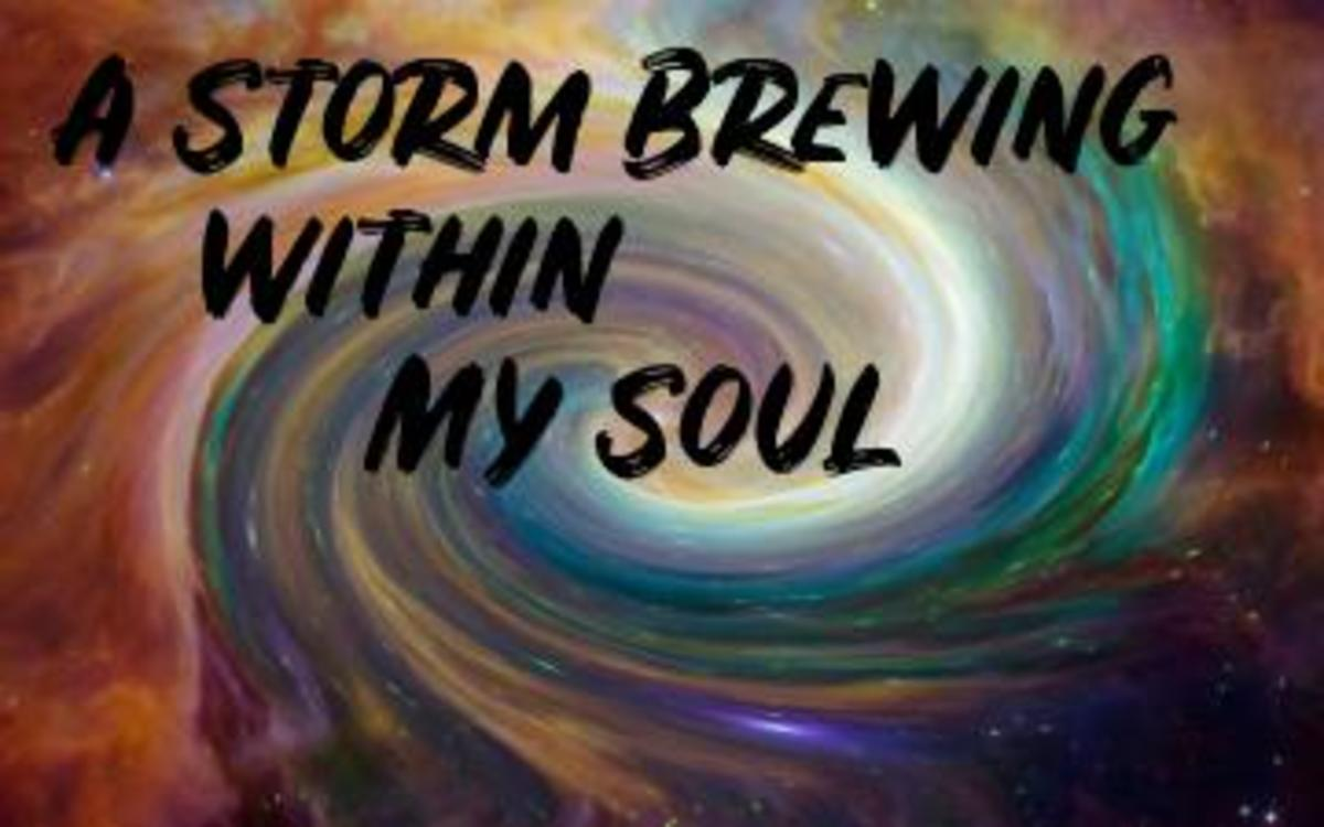 Poem: A Storm Brewing within My Soul
