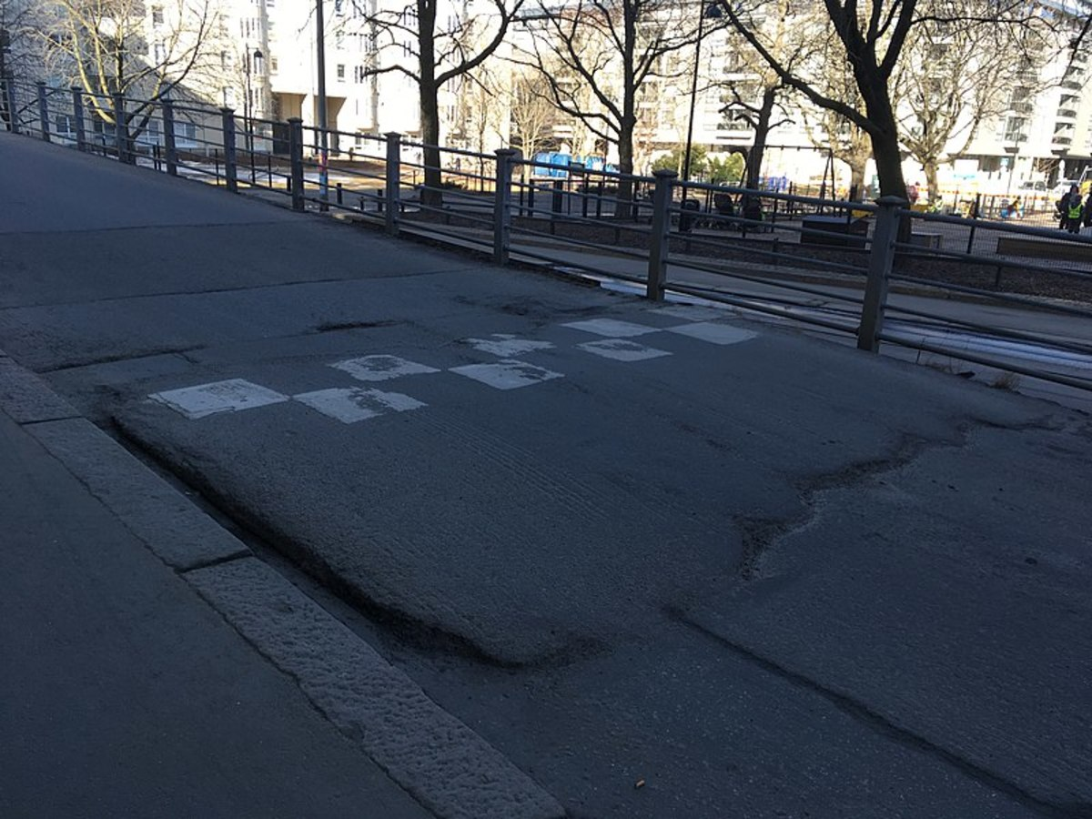 Speed Bump Captured in Helsinki 2018.