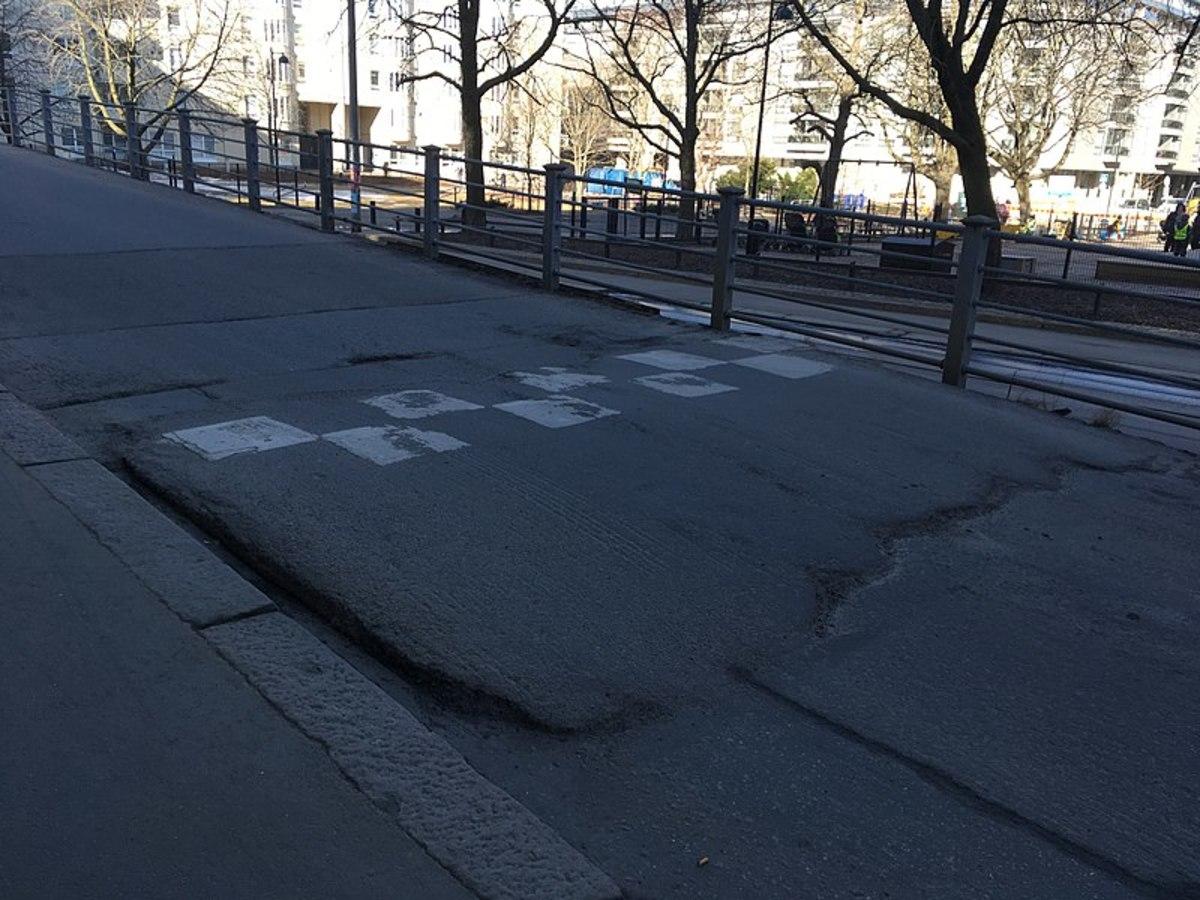 Speed Bump Captured in Helsinki 2018.