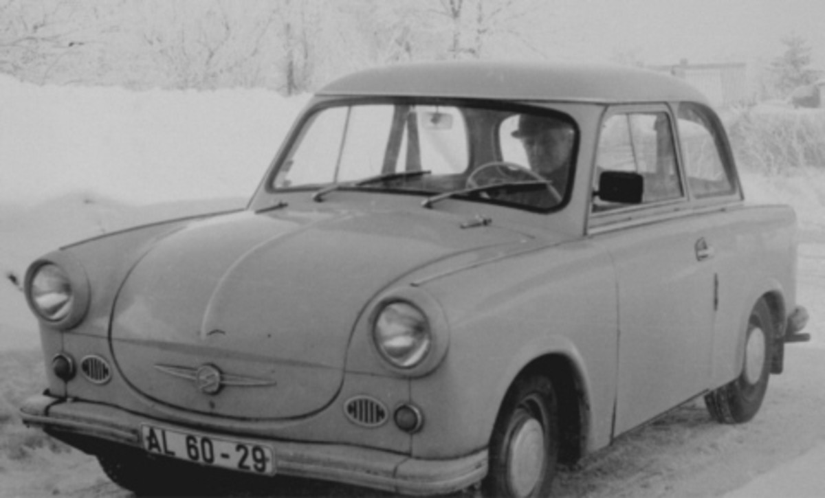 The Dreadful Trabant Car