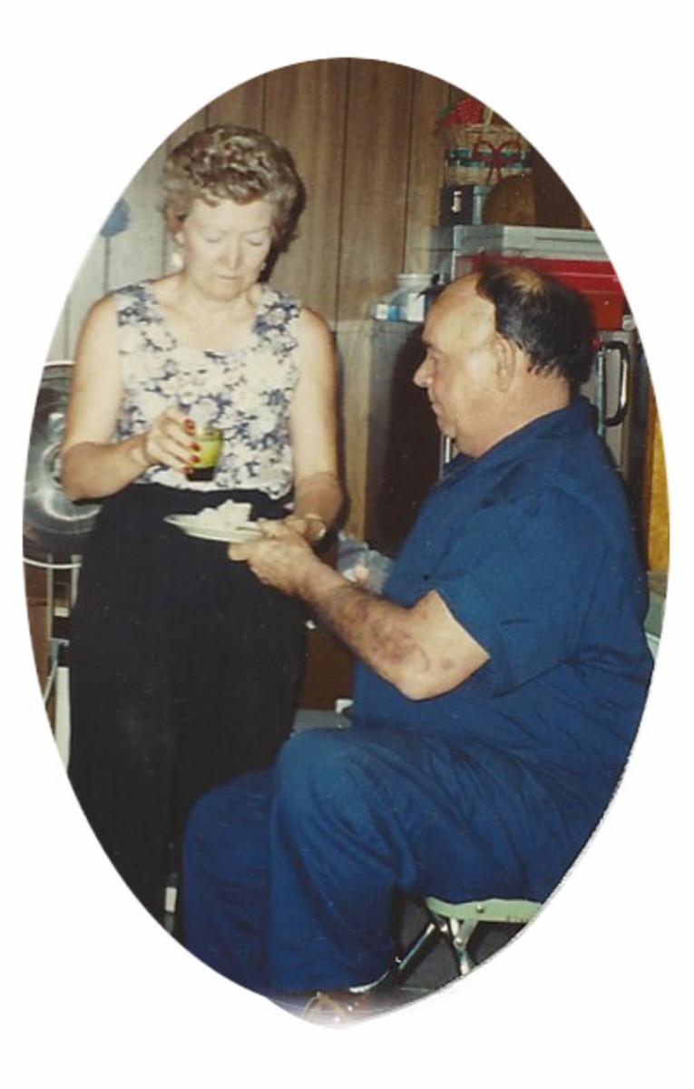 Dad's last birthday, age 60.
