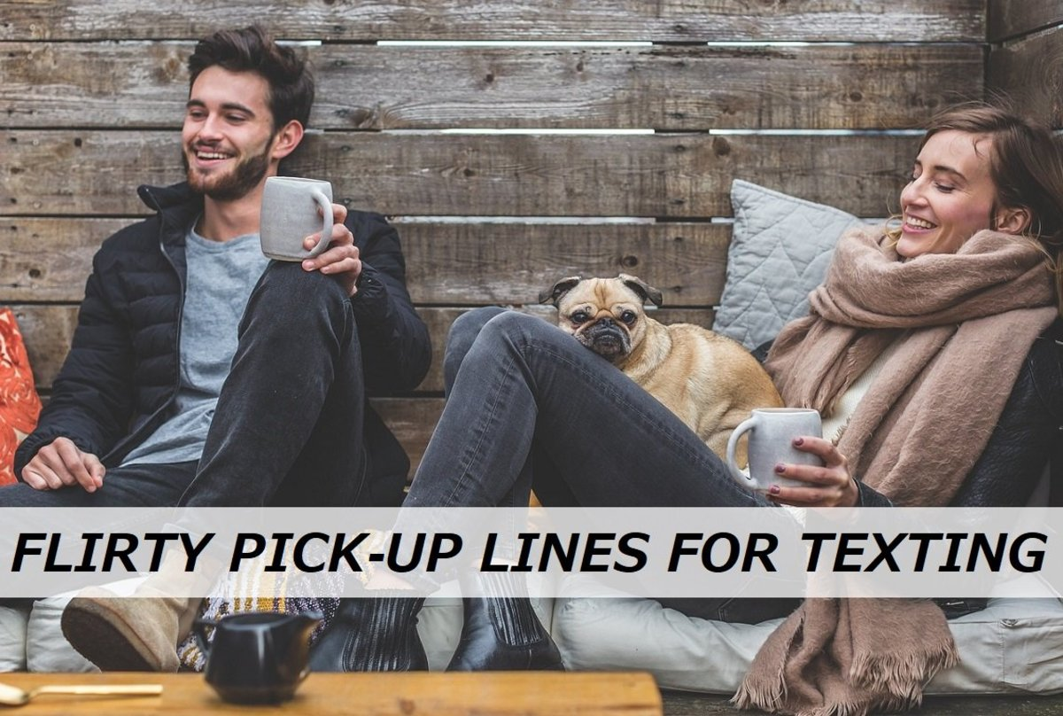 100+ Flirty Pick-Up Lines for Texting