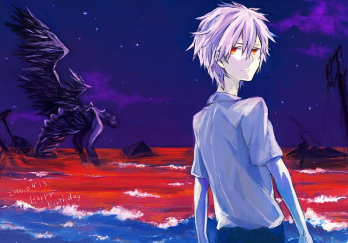 Why Kaworu and Shinji's Relationship Matters to the Story of Evangelion