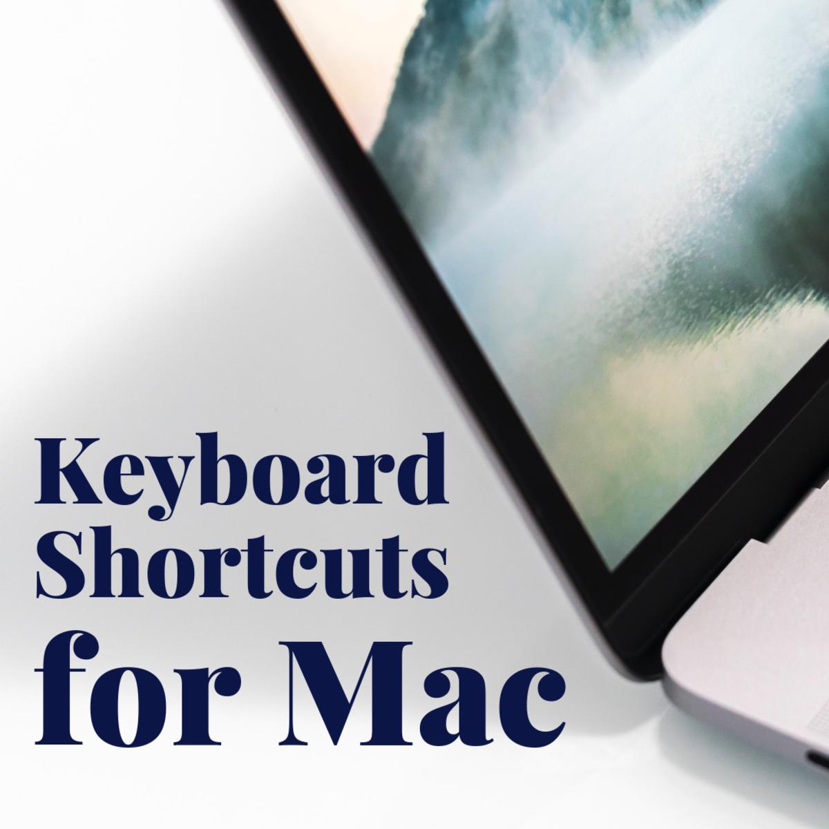 Useful Mac/Apple Keyboard Shortcuts You Should Know