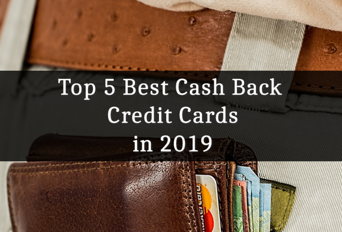 Top 5 Best Cash Back Credit Cards in 2019