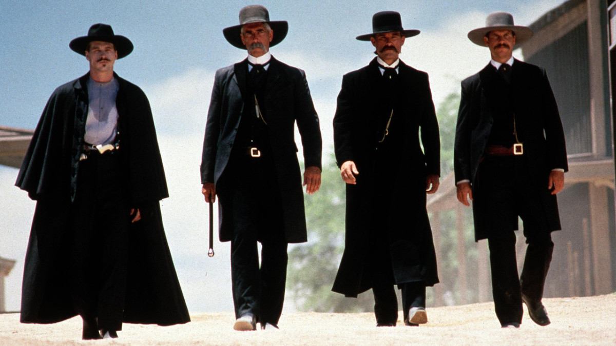 Cast of Tombstone And These Guys, Two of Them, Were Gunslingers.